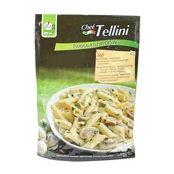 《Tellini》泰利主廚奶油磨菇尖管麵(165g)