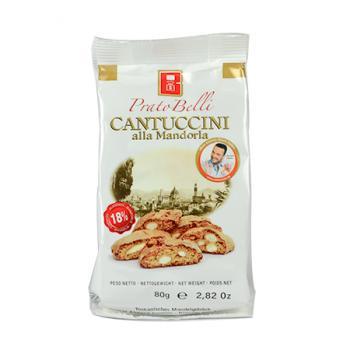 《Belli》義大利手工厚感烘焙餅-18%杏仁(80g)