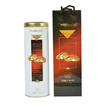《Belli》義大利厚感烘焙餅—25%杏仁(250g/罐)