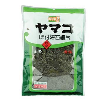 《統記》味付海苔細片-原味(全素)(38g)