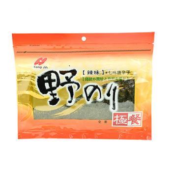 極餐野海苔-辣味七味唐辛子(40g)