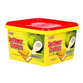 《向日葵》椰子夾心餅(800g桶裝)
